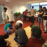 ejump team activities at the office.
