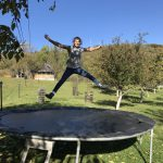 eJump member on a trampoline