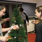 Christmas party at the eJump office