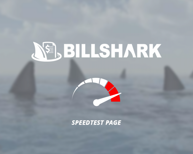 Billshark Speedometer