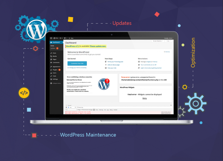 Wordpress maintenance services