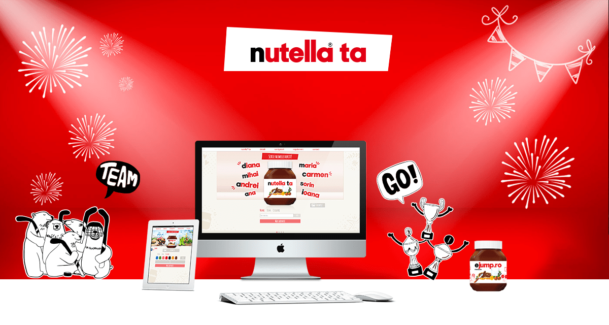 The Nutella app