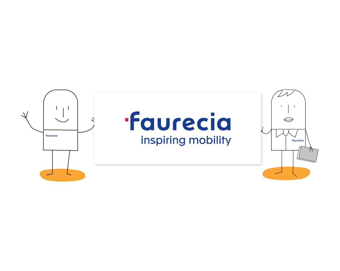 Faurecia logo illustration