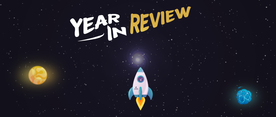 Year in review 2018 - ejump illustration