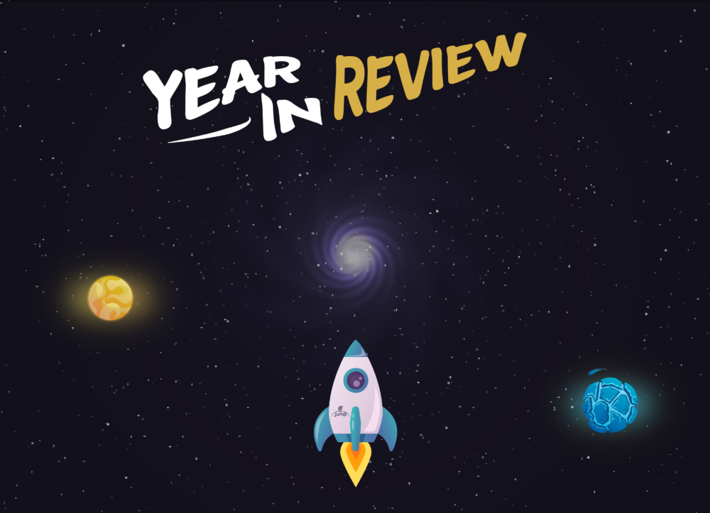 Year in review ejump illustration