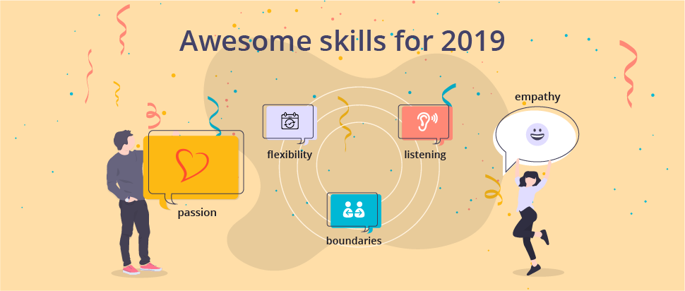 awesome skills for 2019 illustrated