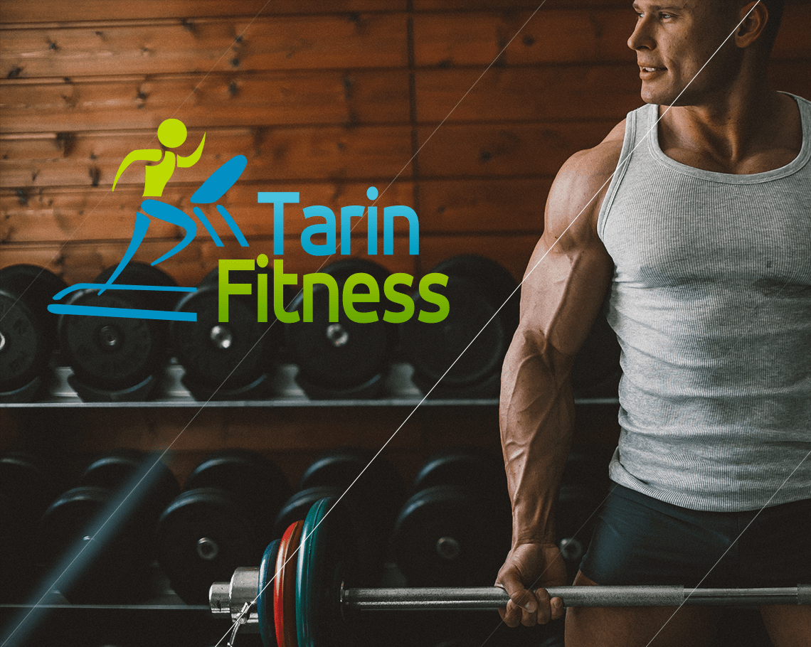 TARIN fitness website design