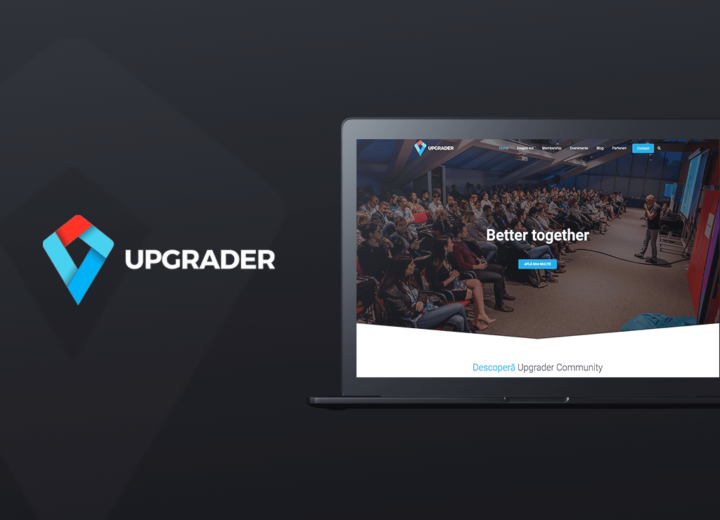 Upgrader.biz pro bono project by ejump media