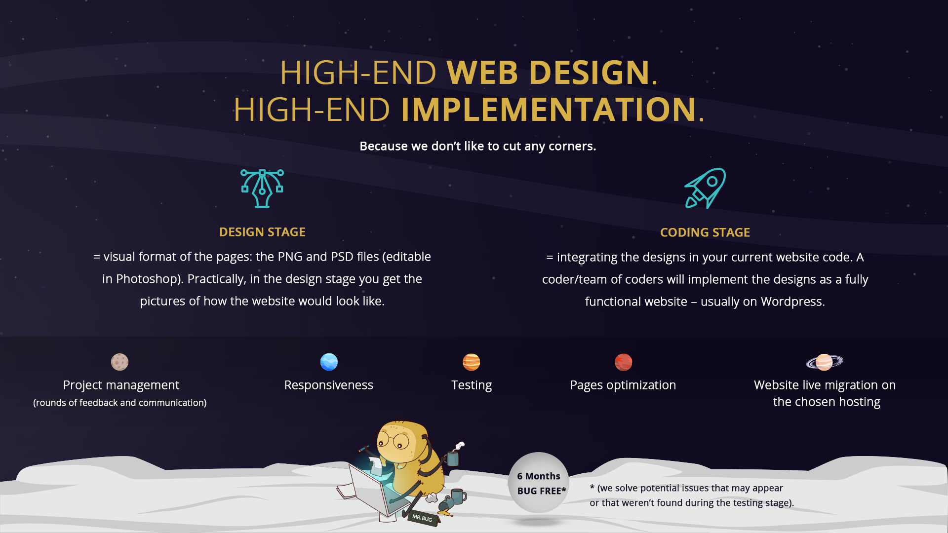 Great web design and development services from eJump