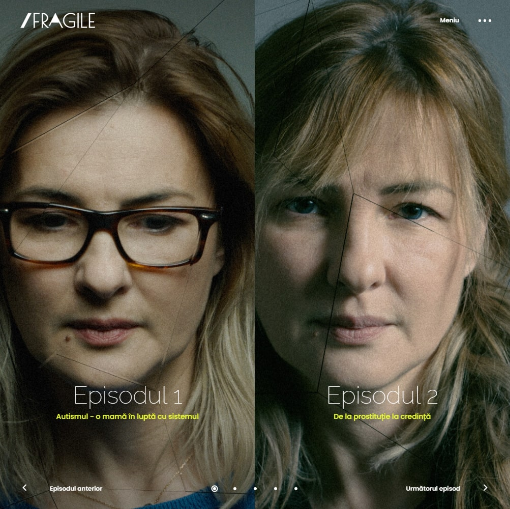 fragile.live social project for vulnerable women in Romania